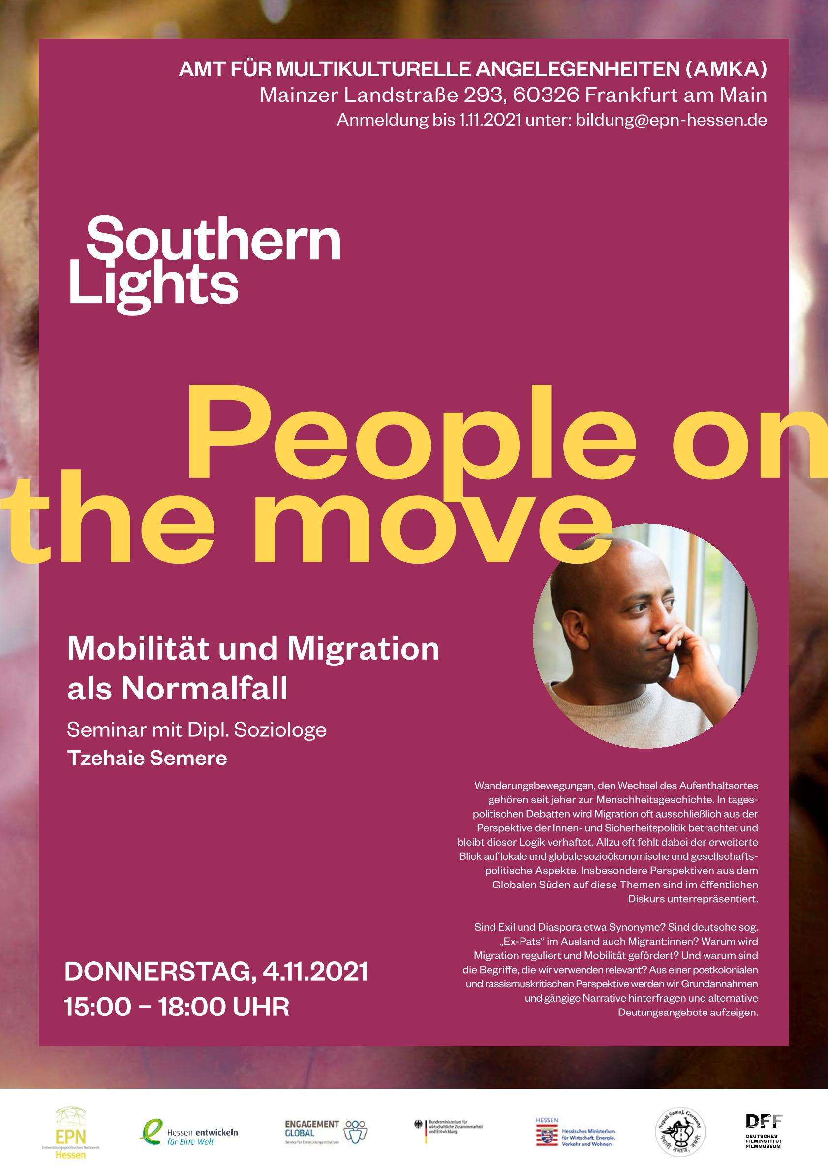 People on the move: Mobilität und Migration als Normalfall
